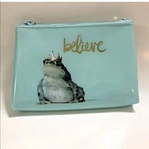Catseye London Pouch Bag Believe Frog Prince
